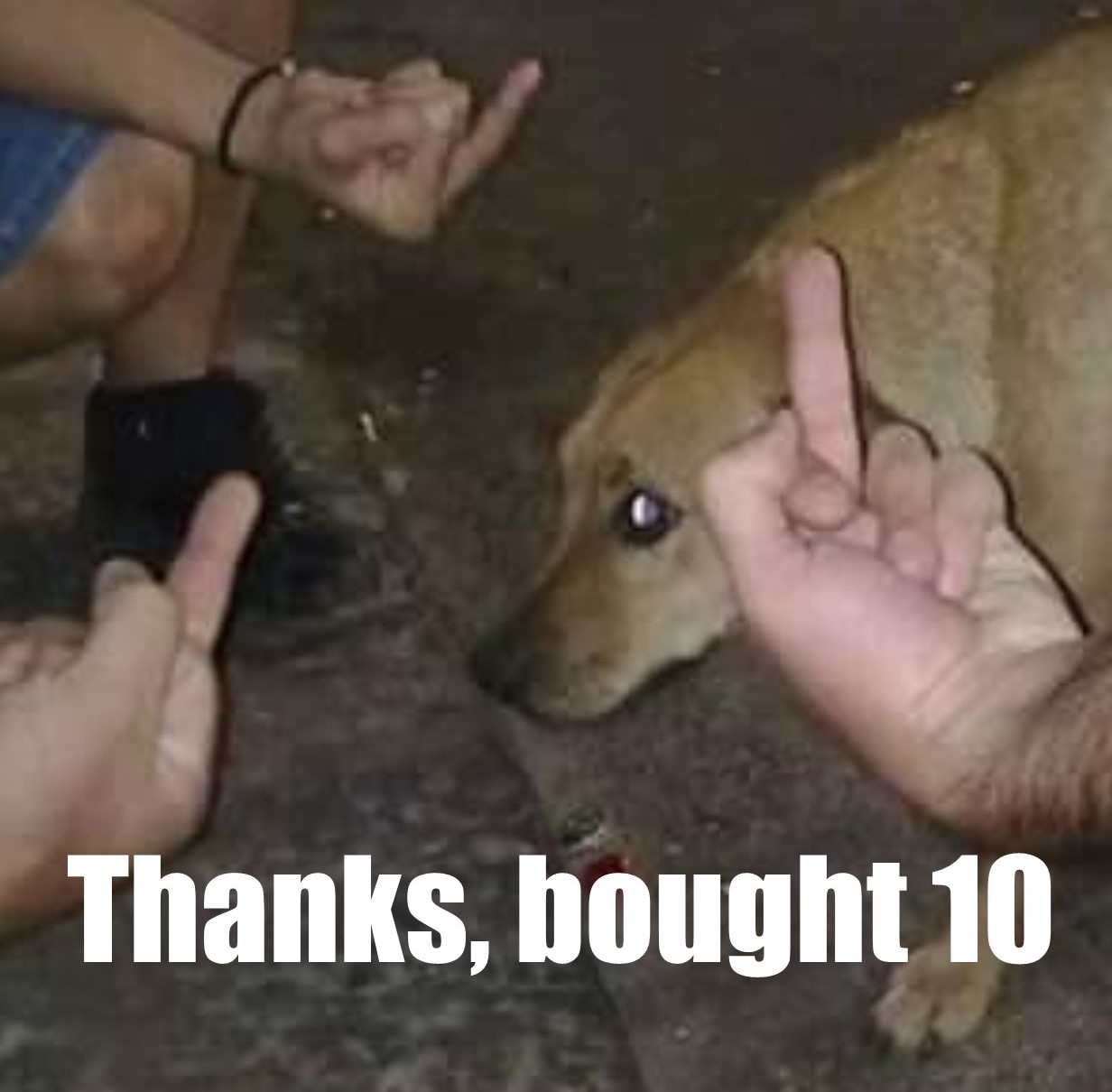 Thanks, bought 10