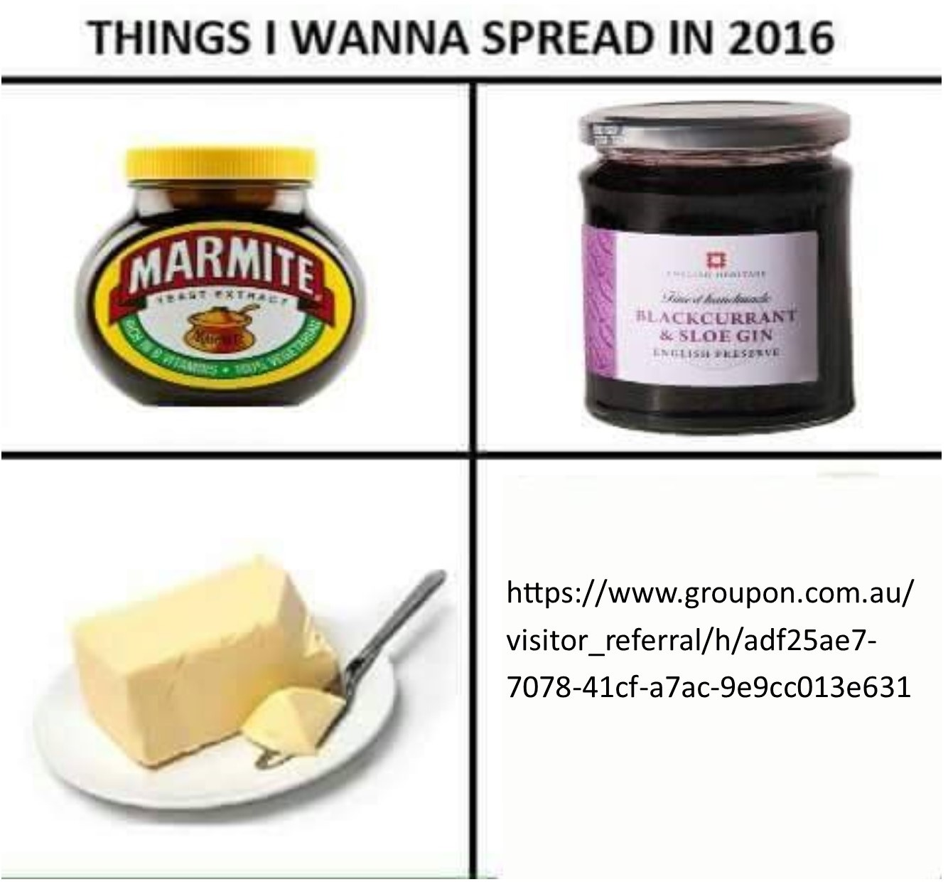 THINGS I WANNA SPREAD IN 2016